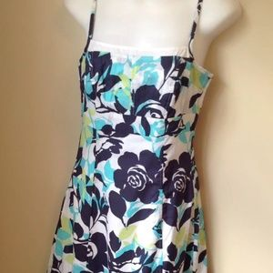 3 for 20 A-Line Sundress NY & Co Lined Cotton 2